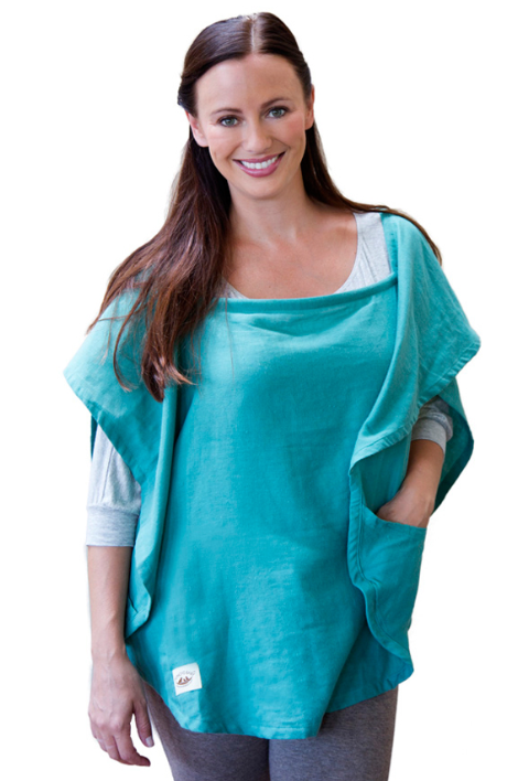 Classic Nursing Cover Emerald Oval