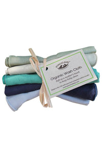 Organic Baby Washcloth - Boy Bundle
