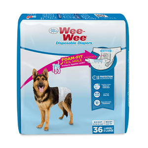 Wee-Wee® Disposable Dog Diapers, 36 count