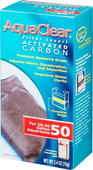 Hagen Aqua Clear Activated Carbon Filter Insert