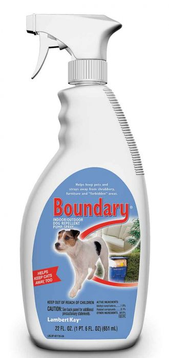 Boundary Indoor/Outdoor Dog Repellent Pump Spray