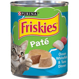 Friskies Pate Ocean White Fish & Tuna Dinner Canned Cat Food