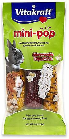 Vitakraft Mini-Pop Small Animal Treat, 6-oz