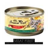 Fussie Cat Super Premium Chicken & Vegetables in Gravy Canned Food
