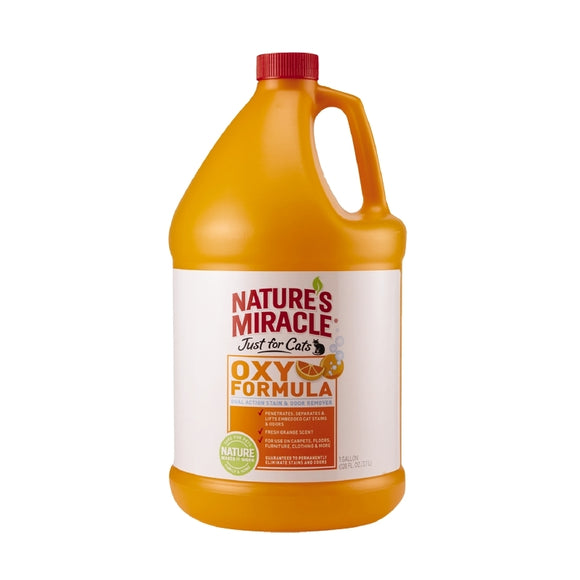Nature's Miracle Just For Cats Oxy Formula Stain and Odor Remover