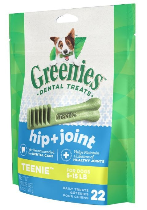 Greenies Teenie Hip and Joint Care Canine Dental Chews