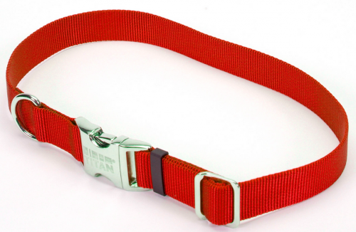 Coastal Pet Products Titan Metal Buckle Adjustable Nylon Large Dog Collar