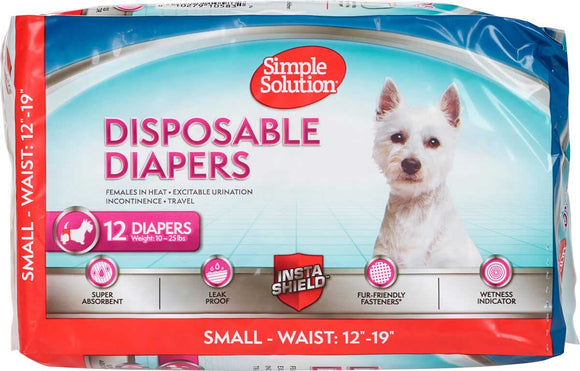 Simple Solution Disposable Diaper 12-Pack