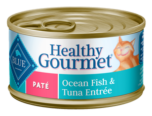 Blue Buffalo Healthy Gourmet Adult Ocean Fish & Tuna Entree Canned Cat Food
