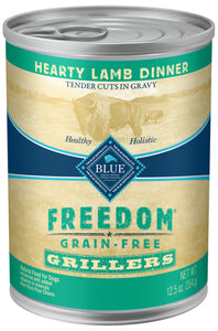 Blue Buffalo Freedom Grain Free Grillers Hearty Lamb Dinner Canned Dog Food