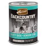 Merrick Backcountry Grain Free Hearty Duck and Venison Stew Canned Dog Food