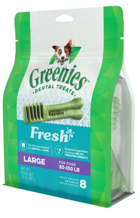Greenies Large Mint Dental Dog Chews