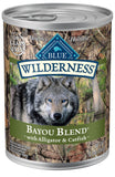 Blue Buffalo Wilderness Grain Free Bayou Blend with Alligator & Catfish Canned Dog Food