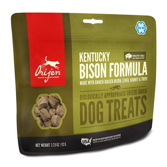ORIJEN Freeze Dried Plains Bison Dog Treats