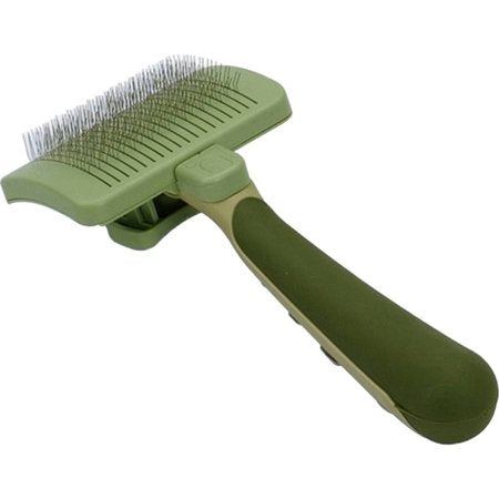 Safari Dog Self-Cleaning Slicker Brush
