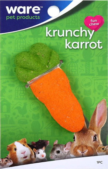 Ware Pet Products Krunchy Karrot