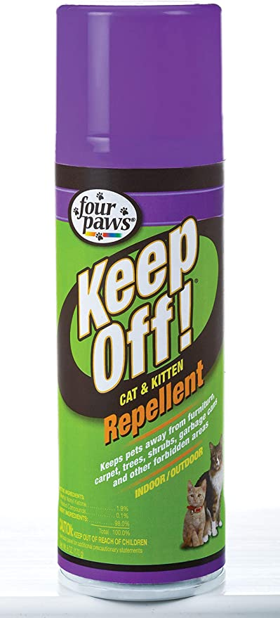 Four Paws Keep Off! Repellent Cat & Kitten Spray