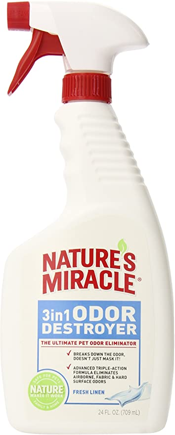 Nature's Miracle 3 in 1 Odor Destroyer Spray