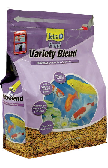 TetraPond Variety Blend Fish Food