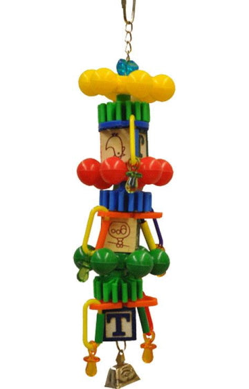 A&E Spin Tower Bird Toy Medium