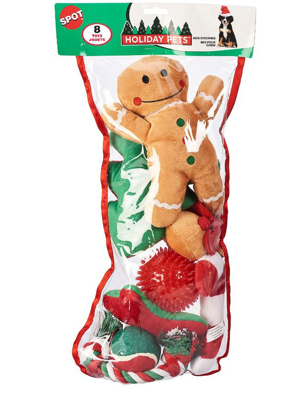 Ethical Holiday Cat Stocking with 8 Toys