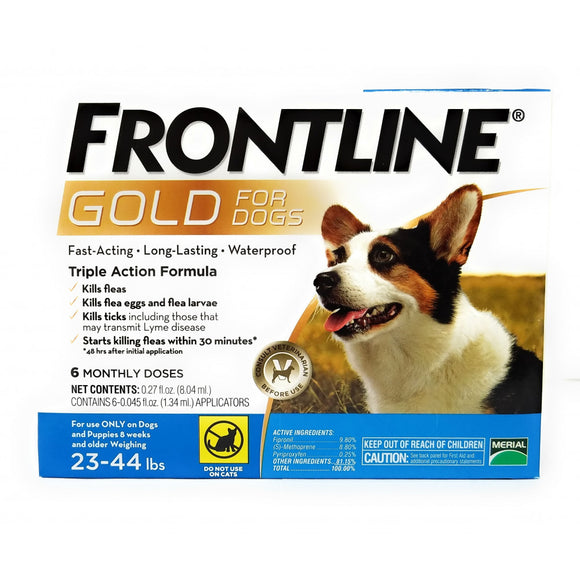 Frontline Gold for Medium Dogs