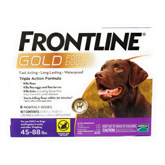Frontline Gold for Large Dogs