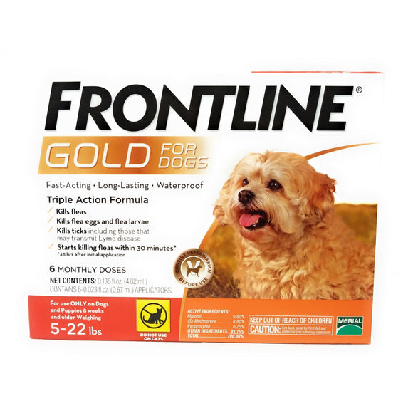 Frontline Gold for Small Dogs and Puppies