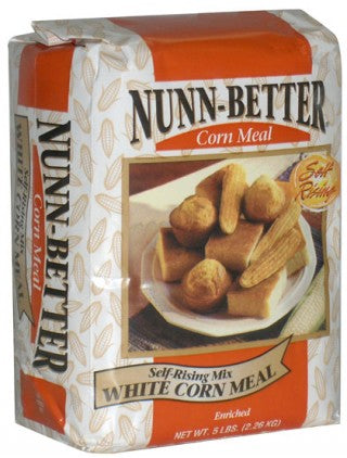 Nunn Better Self-Rising White Corn Meal Mix