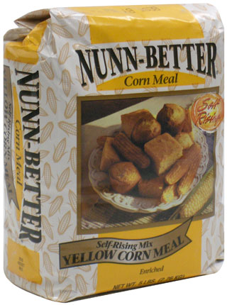 Nunn Better Self-Rising Yellow Corn Meal Mix
