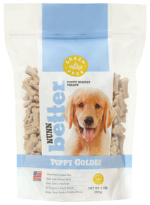 Nunn Better Grain-Free Puppy Golden Biscuits