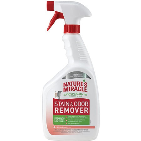 Nature's Miracle Stain and Odor Remover Spray - Melon Burst Scent