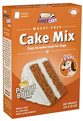 Puppy Cake Mix Peanut Butter