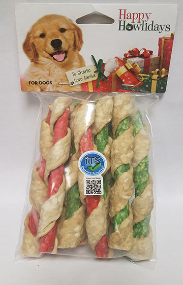 Pet Factory Holiday Mini Rolls 5-inch 10 Pack