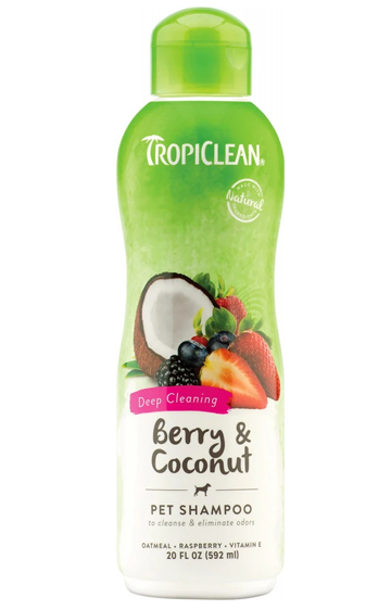 Tropiclean Deep Cleaning Pet Shampoo