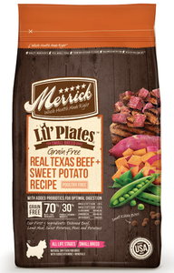 Merrick Lil' Plates Small Breed Grain Free Real Beef and Sweet Potato Dry Dog Food