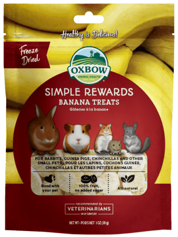 OXBOW Simple Rewards Banana Treats