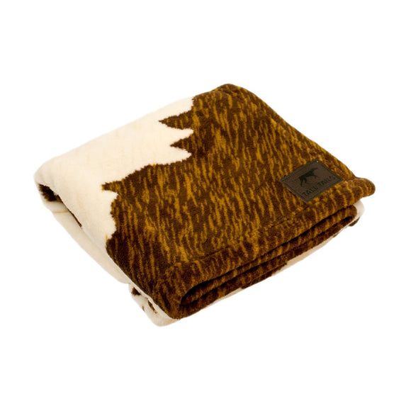 Tall Tails Dog Blanket - Cowhide