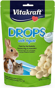Vitakraft Drops with Yogurt Rabbit, Guinea Pig & Hamster Treats