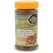 Zoo Med Hermit Crab Food, 2.4-oz jar