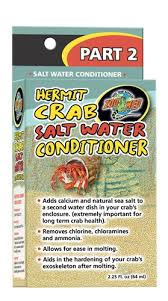 Zoo Med Hermit Crab Salt Water Conditioner