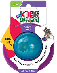 KONG Infused Cat Gyro Cat Toy