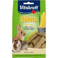 Vitakraft Slims with Corn for Rabbits, Guinea Pigs, & other Small Animals