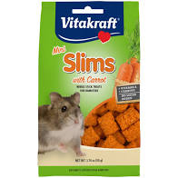 Vitakraft Mini Slims with Carrot for Hamsters