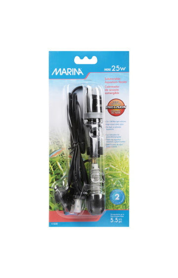 Hagen Marina Mini Submersible Aquarium Heater - 25W