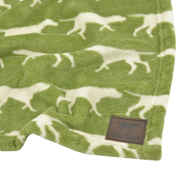 Tall Tails Dog Blanket - Sage Icon