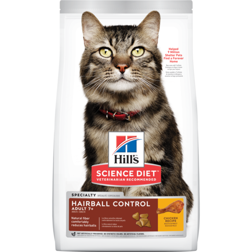 Hill's Science Diet Adult (7+) Hairball Control Cat Food