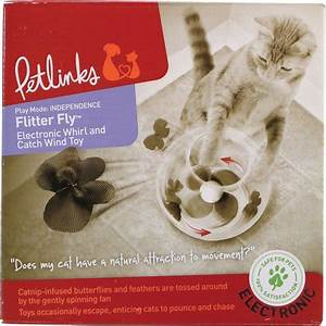 Petlinks Flitter Fly Electronic Motion Cat Toy
