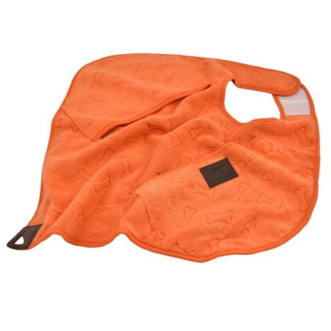 Tall Tails Cape Dog Towel - Orange