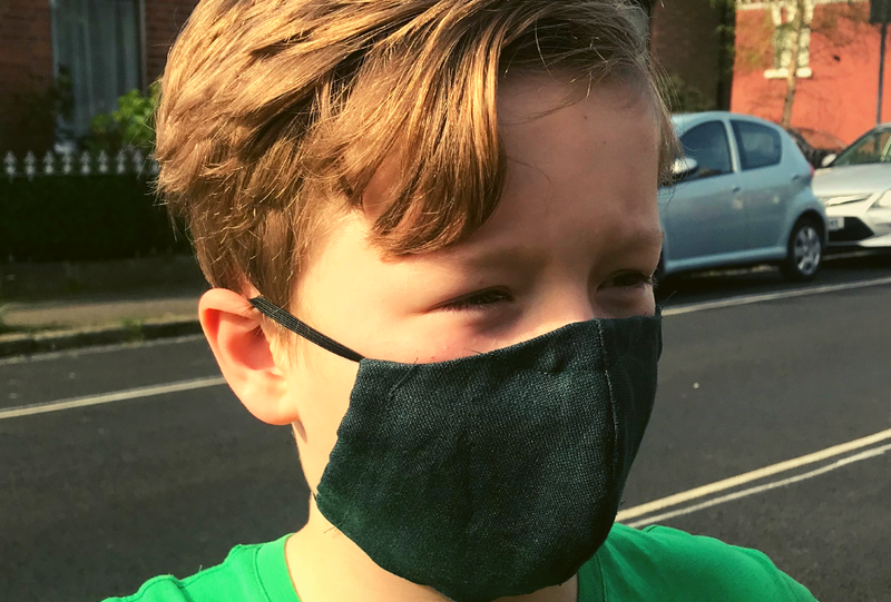 Face masks for kids: 4 Irish-made options to cover up